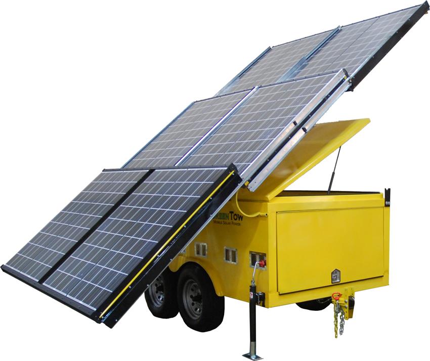GT916 Mobile Solar Trailer