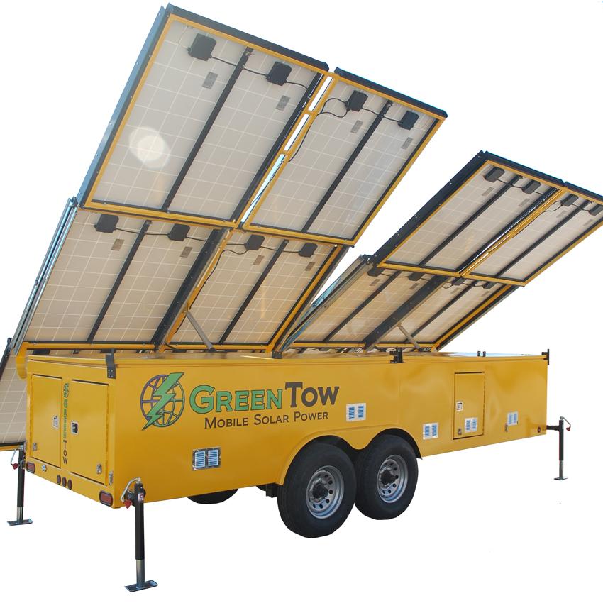 GT1932 Mobile Solar Trailer