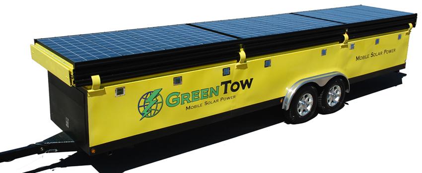 GT3049 Mobile Solar Trailer